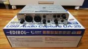 ローランド エディロール ROLAND EDIROL USBオーディオMIDIインターフェイス UA-25 美品