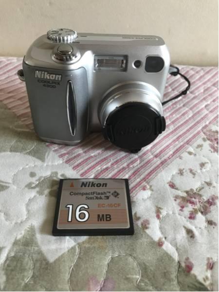 中古品 Niko(ニコン)COOLPIX4300 E4300