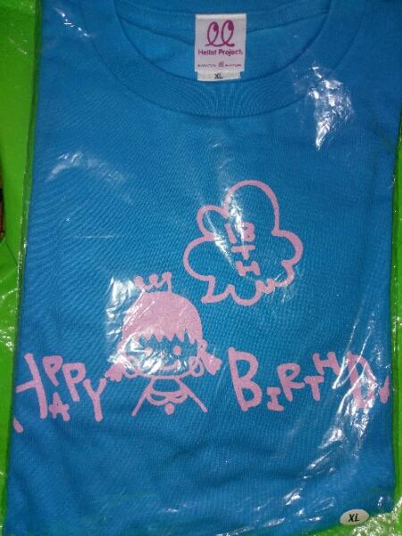 ℃-ute(キュート) 中島早貴 18歳 バースデー Tシャツ XL  ライブグッズの画像