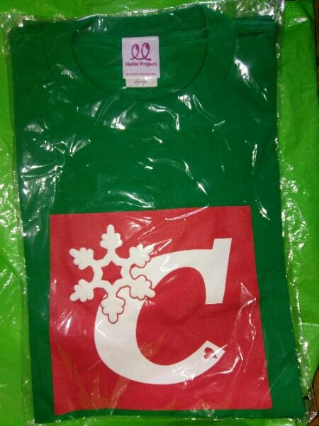 ℃-ute(キュート) 会いたいロンリークリスマス イベント Tシャツ ライブグッズの画像