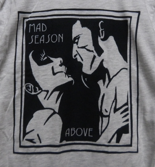 MAD SEASON Tシャツ alice in chains pearl jam soundgarden sonic youth nirvana radiohead david bowie the cure oasis pj harvey bjork