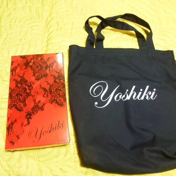 XJAPAN Yoshiki ディナーショー2016 カトラリーセット(未使用)バック付き ライブグッズの画像