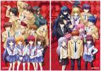 character1 ビジュアルアーツ Angel Beats! A2クリアポスターセット エンジェルビーツ 天使 キャラワン ユリ