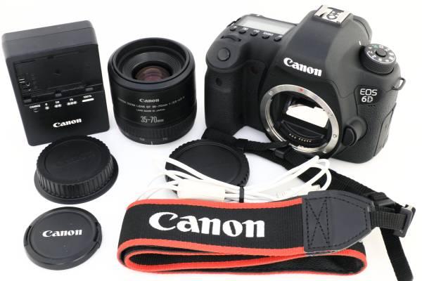 ★美品★ キヤノン Canon EOS 6D レンズセット キャノン #A0100