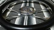 廃盤モデル BUDNIK CrossFire ビレットステアリング USDM レカラ BOYDS バドニック ローライダー ミニトラ HOTROD GM ホーンボタン