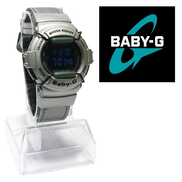 """カシオ ベビーG (ベイビーG) CASIO Baby-G BG-325B """"反転液晶"""" ユニセックス・モデル 《シルバー》_■ 視認性の良い反転液晶タイプです。"""