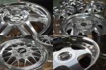 ★新品の輝き 加工★BBS LM RG RS WORK RAYS レイズ SSR OZ メッシュ 100 ケーニッヒ スピードスター ハヤシ プリウス ハコスカ BMW ベンツ