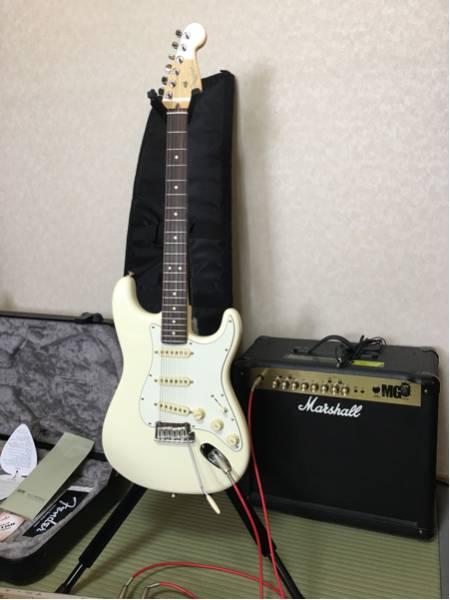 良音 Fender American Professional Stratocaster Olympic White Rosewood 新品 ストラト