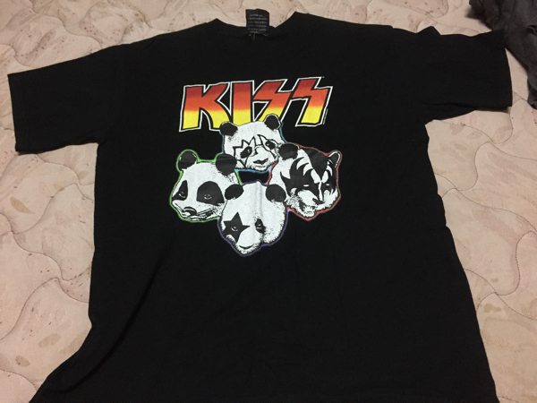 KISS キッス パンダ  Tシャツ サイズM ライブグッズの画像
