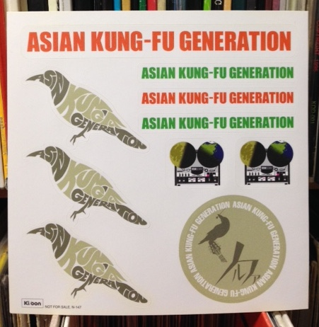 Asian Kung-Fu Generation / ソルファ ステッカー