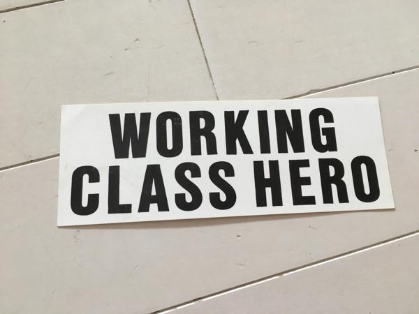 ステッカー ビートルズ WORKING CLASS HERO