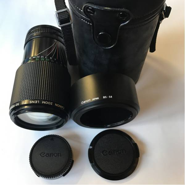Canon ZOOM LENS FD 50-135mm 1:3.5 + レンズフードBS-58 セット