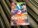 ほぼ新品☆Nintendo Switch 1-2-Switch (ワン ツー スイッチ)