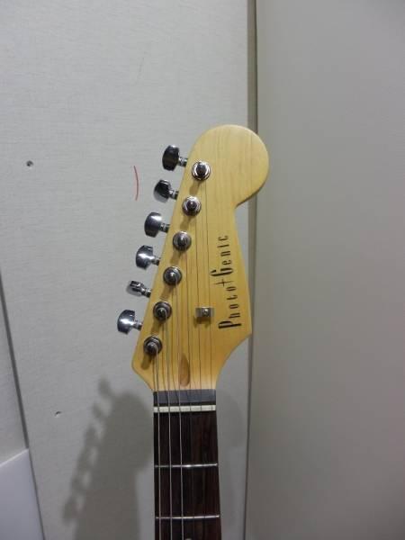 フォトジェニック エレキギター中古美品!!