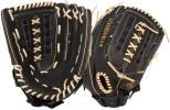 新品☆USAルイスビルスラッガー ソフトボール 外野手用 FGDY14-BK140 14インチ 大きめグローブ 海外限定モデル