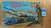 ホーク社製1/48キットNo.801-298マーチン・マタドールミサイル、ランチャーとトレーラーUSAF TM-61