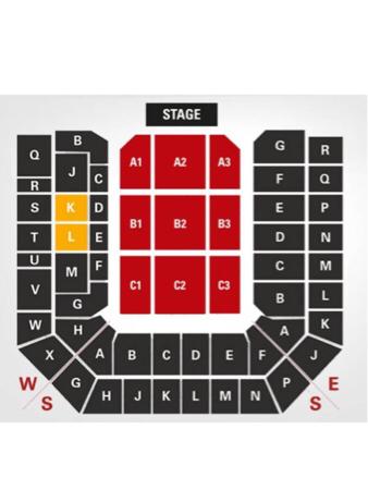 6/10 ★ BIGBANG G-DRAGON A2区 1-6列 1枚