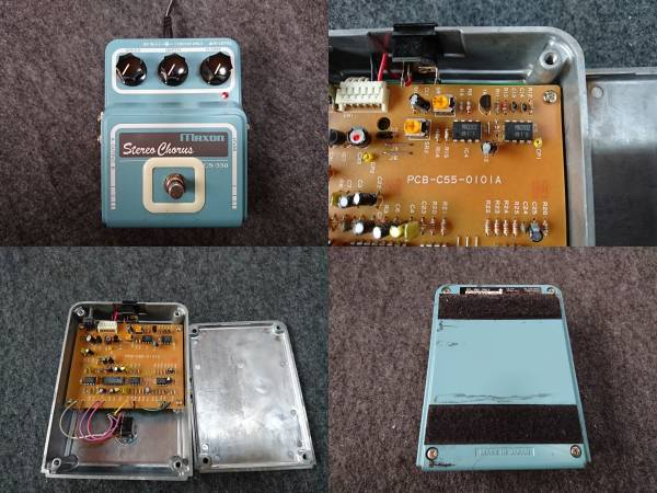 MAXON CS-550 Stereo Chorus アナログコーラス MN3207 MN3102