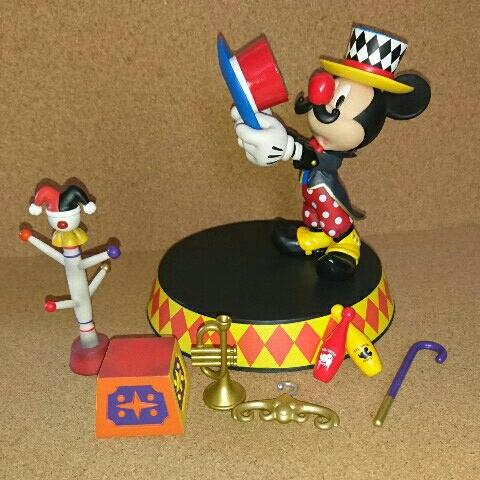 ディズニー ミッキー アクセサリースタンド フィギュア ディズニーグッズの画像