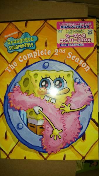 【新品】スポンジボブ シーズン2 DVDBOX グッズの画像