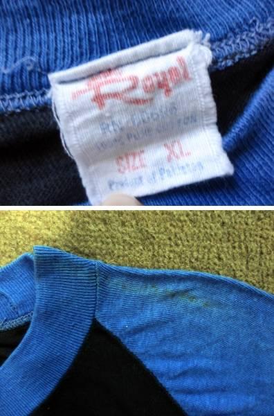 マイケルジャクソン 七分袖Tシャツ ヴィンテージ ベースボールTシャツ 80's 送料無料 ロック T_画像3