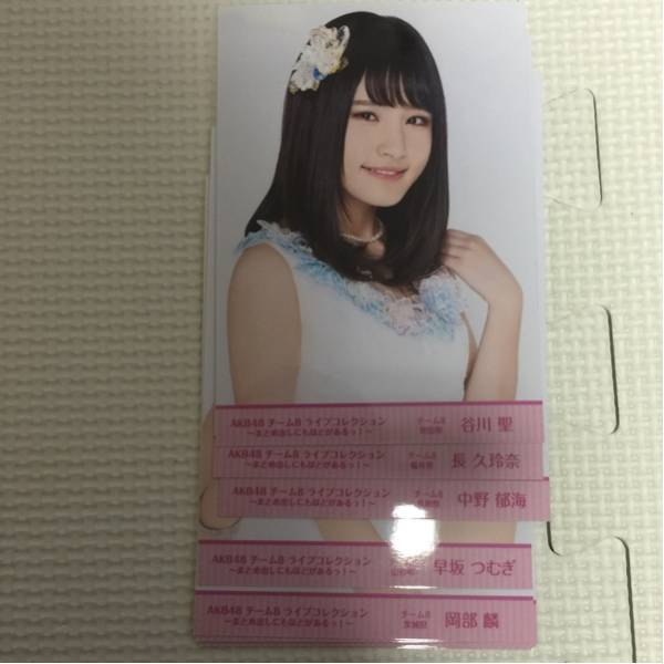 AKB48 チーム8 ライブコレクションDVD封入生写真 10枚