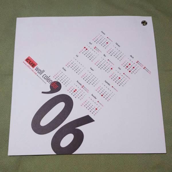 オフィスCUE カレンダー 2006年 大泉洋 安田顕音尾琢真 戸次重幸 森崎博之 未使用