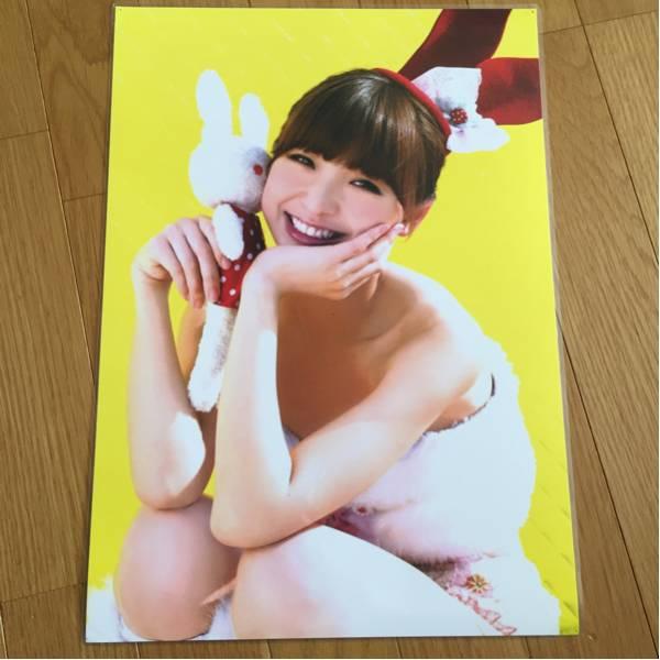 AKB48 篠田麻里子 パウチピンナップ 画鋲穴4つあります ライブ・総選挙グッズの画像