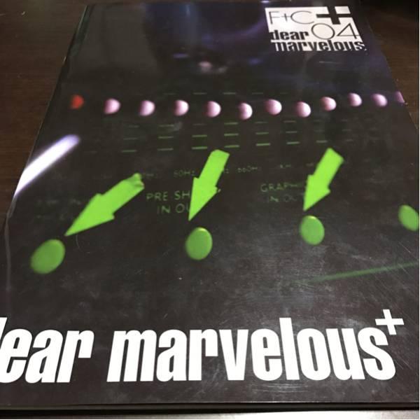 484.♪送料無料♪【FANATIC◇CRISIS】「dear marvelousツアーパンフレット」2004年