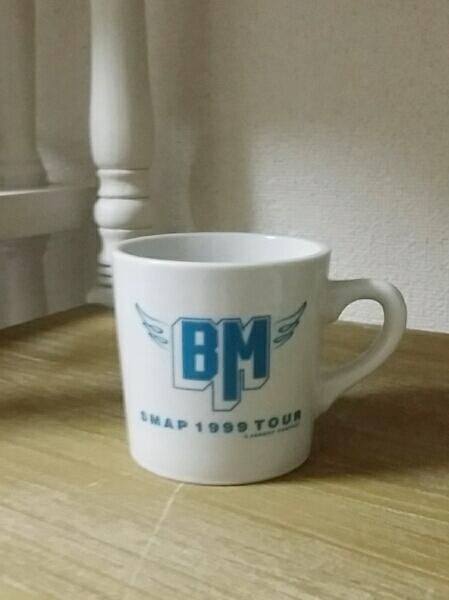 レア★未使用SMAP マグカップ 1999 LIVE BIRDMAN コンサートグッズの画像