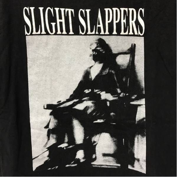SLIGHT SLAPPERS. disclose gism gauze doom undercover crass Tシャツ spazz