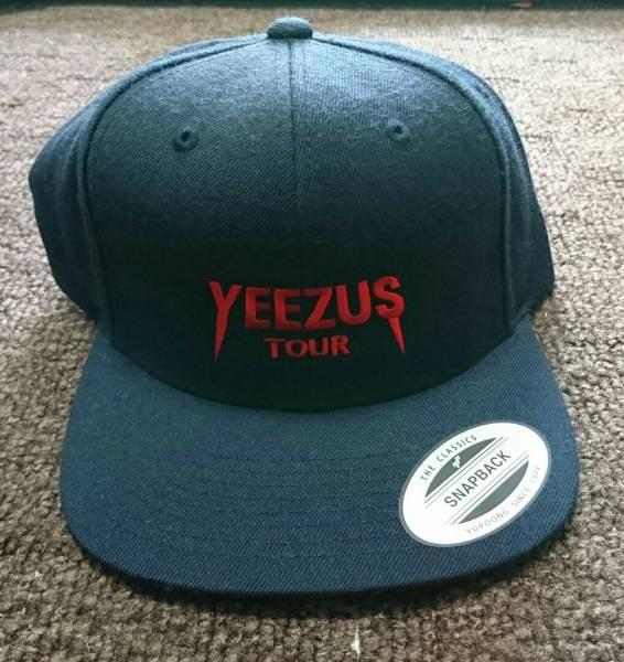 Yeezus tour(イーザス ツアー) cap キャップ Kanye West カニエ ウェスト Yeezy イージー 新品