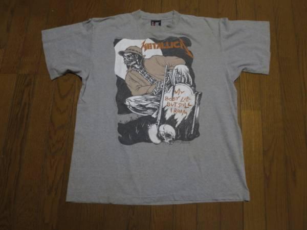 USA製 ビンテージ 90S メタリカ METALLICA パスヘッド PUSHEAD Tシャツ XL VINTAGE FEAR OF GOD カニエウエスト ジャスティンビーバー ライブグッズの画像