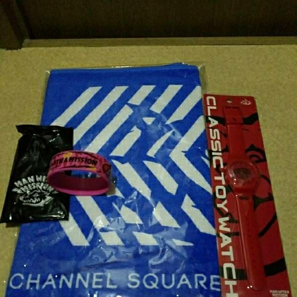 マンウィズ  Dead End in Tokyo TOUR 2017  マリンメッセ福岡会場にて販売されました 3点セットです!