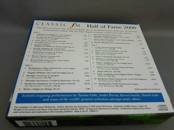 【輸入盤】(オムニバス) CLASSIC FM Hall of Fame 2000(CD3枚組)_画像2