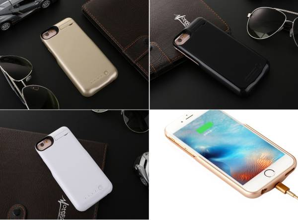★iphone8 iphone7 iPhone6s iPhone6★3in1★5200mAh★充電器搭載ケース★充電機能付きケース★バッテリー付ケース★パワーバンク★4_画像3