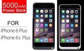 ★iPhone6s PLUS iPhone6 PLUS★5000mAh★充電器内蔵POWERケース★充電機能付きケース★バッテリー付ケース★4