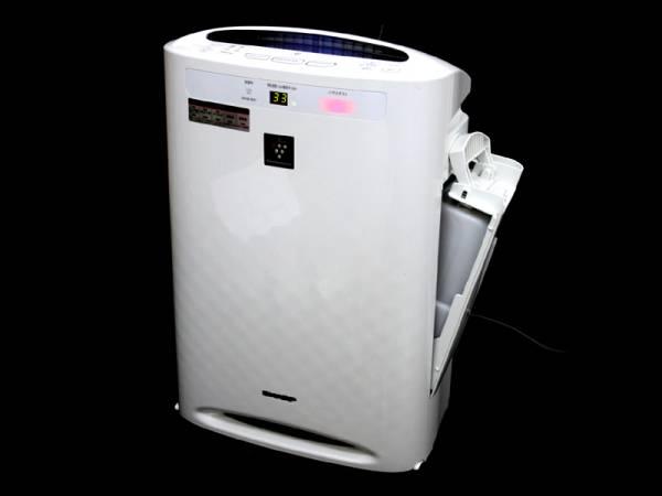 超美品◆23畳対応プラズマクラスター 搭載で空気を浄化 花粉症もウイルスも撃退PM2.5も撃退シャープ加湿空気清浄機 禁煙環境ヤニ無し