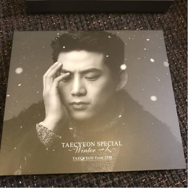 2PM TAECYEON Winter 一人 初回限定A CD+DVD