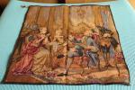 欧州★タペストリー 刺繍画 王宮 貴族★オランダ ICK WAECK HOLLAND 中世ヨーロッパ