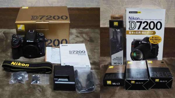 ★☆ 中古美品・Nikon D7200 ボディ☆★