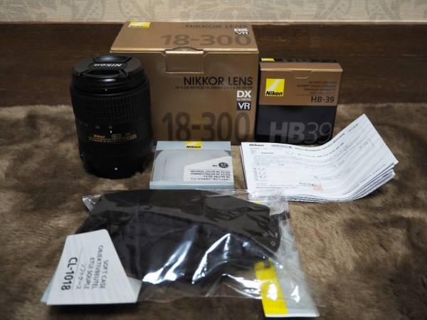 中古美品・AF-S DX NIKKOR 18-300mm f/3.5-6.3G ED VR