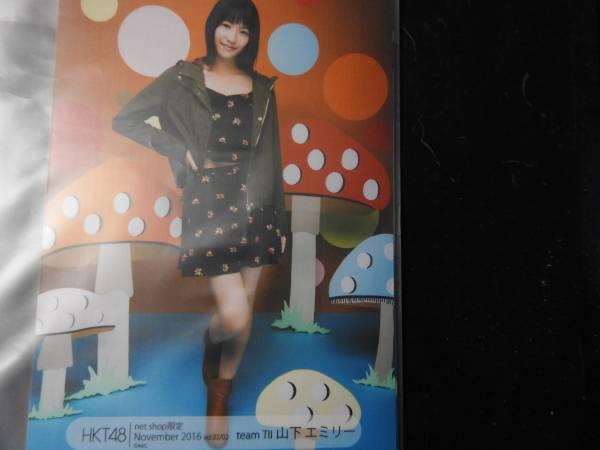 HKT48 山下エミリー 2016・11月 netshop限定 個別生写真vol.2 5枚  ライブグッズの画像