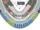 巨人阪神 5/9 エキサイトシート 3塁側 5列目ペア 通路側良席 阪神タイガースファンにはかなりの良席(巨人ファンにも)オレンジタオル付