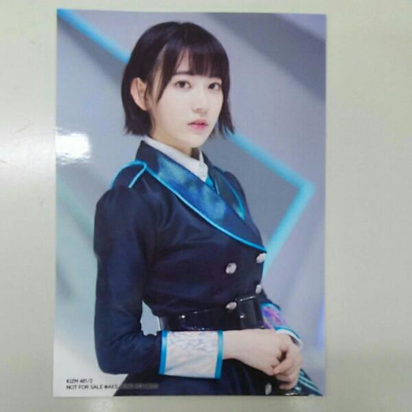 HKT48 宮脇咲良 シュートサイン 通常盤特典生写真 A461 ライブグッズの画像