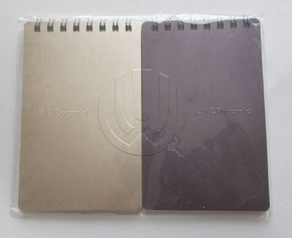 新品 UVERworld メモ帳 2個セット 公式グッズ