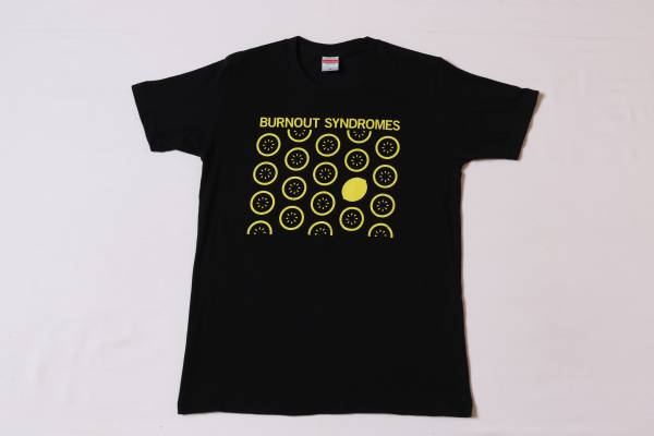 ★BURNOUT SYNDROMES★バーンアウト シンドロームズ★ライブ ヒカリアレ~未来への祈りを合図に火蓋を切る~ロックバンドTシャツ