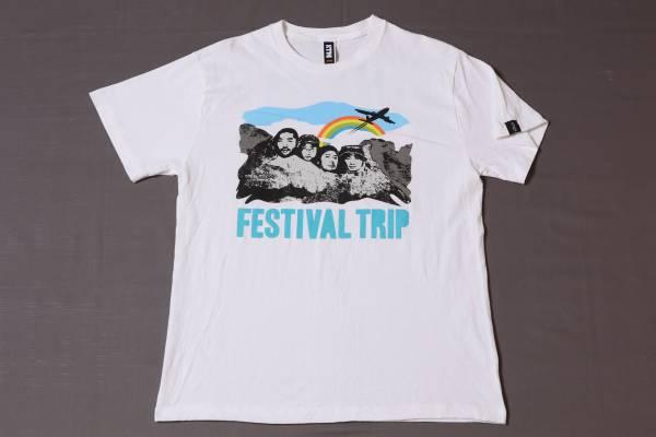 ☆ケツメイシ☆KTM☆SUMMER FESTIVAL2010☆白/ポップTシャツ ライブグッズの画像
