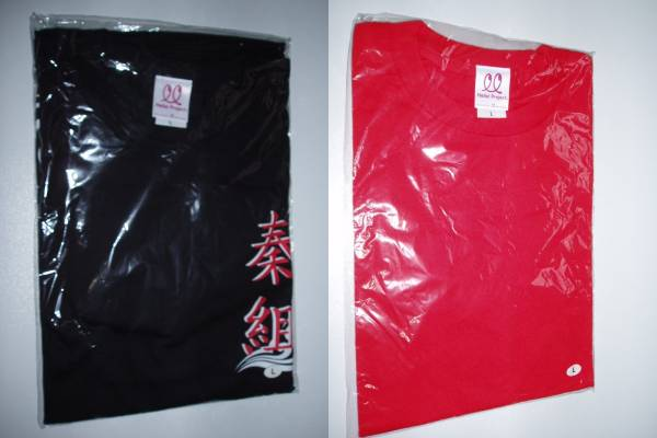 ℃-ute 矢島舞美 秦組 タクラマカン Tシャツ 2枚セット Lサイズ ライブグッズの画像