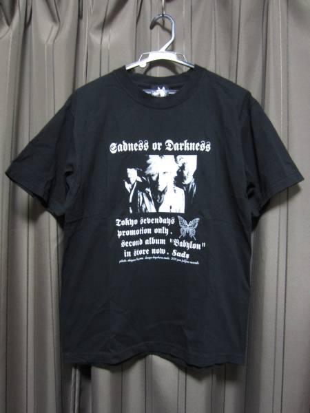 SADS Tシャツ ② TOKYO 7DAYS 未使用 BABYLON FULLFACE 清春 黒夢